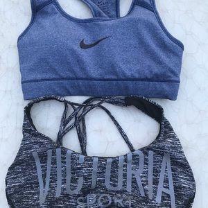 Bundle sports bras